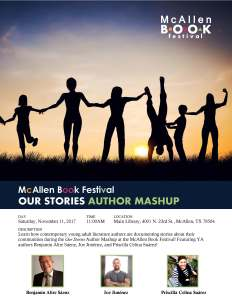 Our Stories Author Mashup Flyer